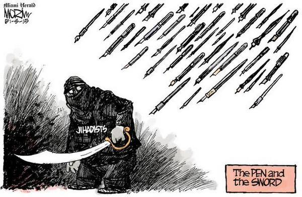 Rysownicy odpowiadają na zamach w redakcji Charlie Hebdo  5
