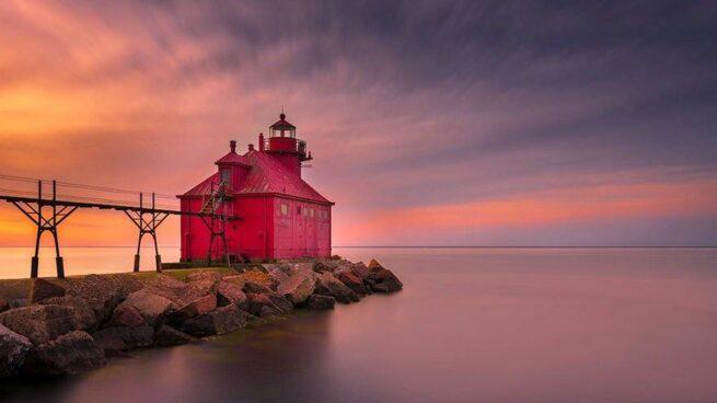 Zapierając dech w piersiach zdjęcia latarni morskich 10