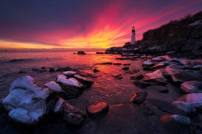 Zapierając dech w piersiach zdjęcia latarni morskich 15