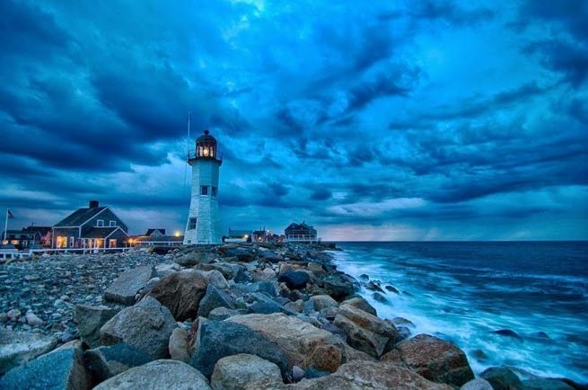 Zapierając dech w piersiach zdjęcia latarni morskich 2