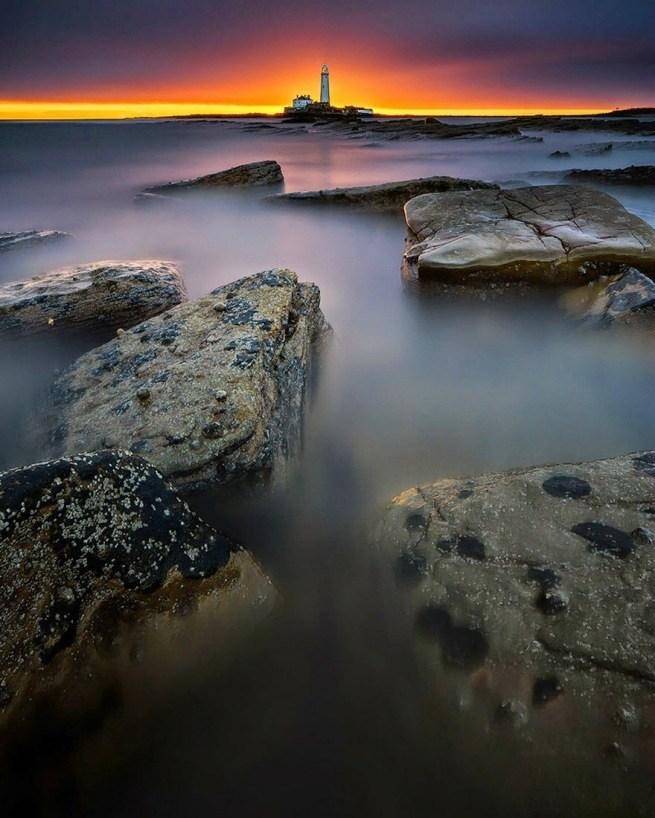 Zapierając dech w piersiach zdjęcia latarni morskich 4