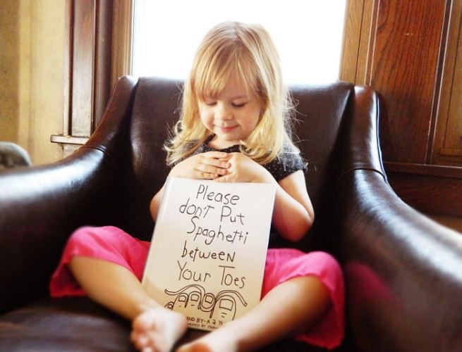 Zrobił plakaty ze słów swojej 3-letniej córki 1