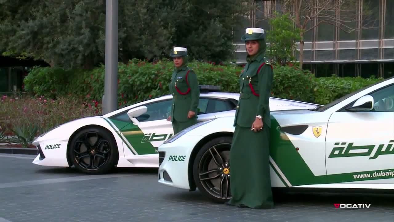 Policja Z Dubaju Ma Tylko Super Bryki Faner Pl
