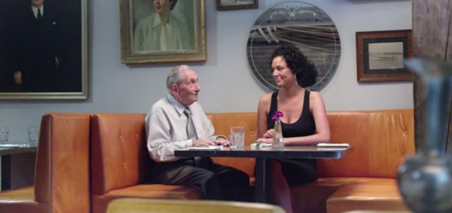 staruszek na randkach