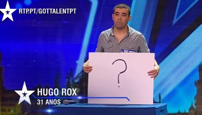 Wiadomość dla byłej dziewczyny w portugalskim Mam Talent 2