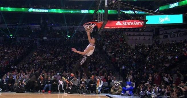 Zach LaVine. Fenomenalny 19-latek wygrał konkurs wsadów na Meczu Gwiazd NBA