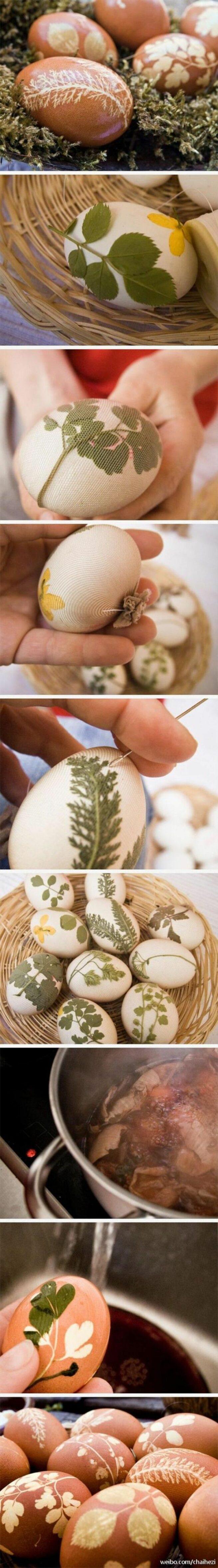 Sposób dekoracji jaj Wielkanocnych 3
