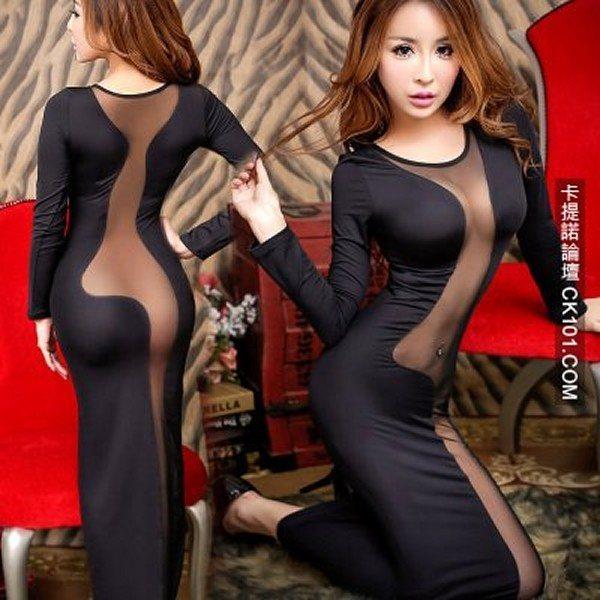 85aa6e210bc61e Ta kobieta wkurzyła się, bo sukienka nie leżała na niej tak, jak na ...