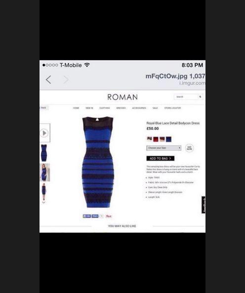 kłótnia o kolor sukienki, która podzieliła świat