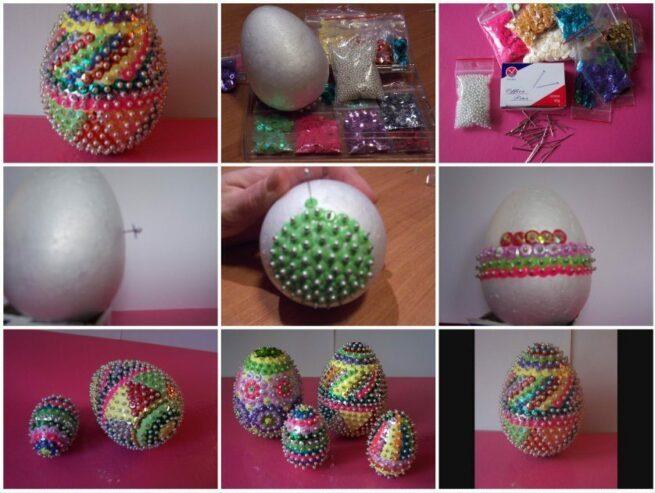 Wielkanocne jajko w cekiny 5