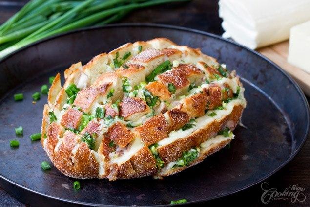 cebulowy chlebek