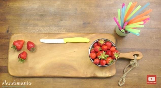 sposób na truskawki