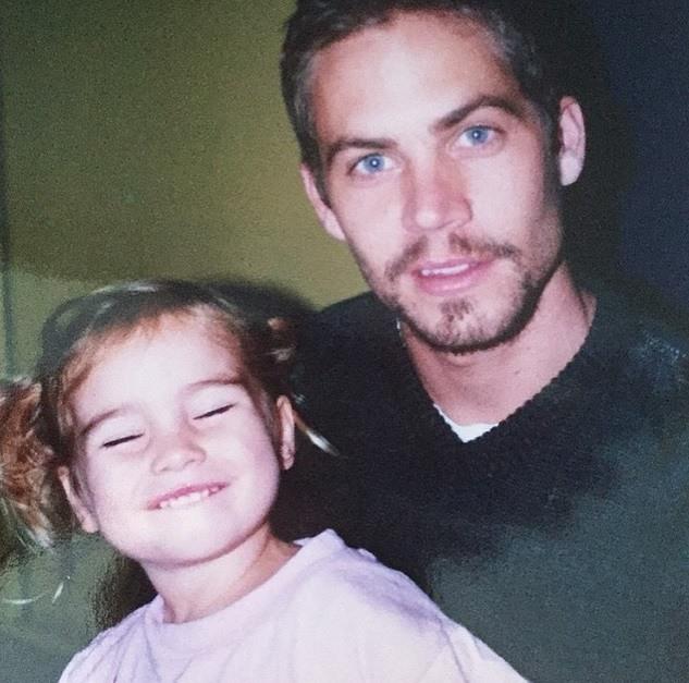 Wzruszające zdjęcie córki Paula Walkera 2