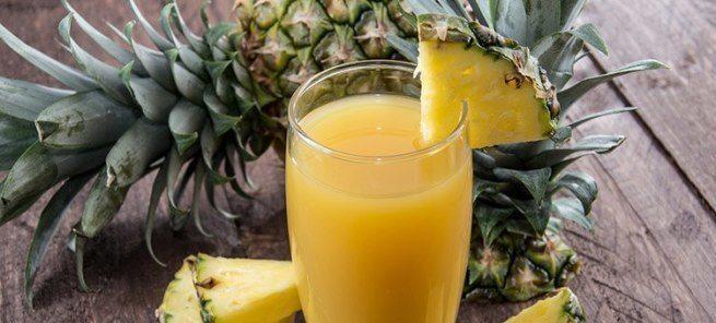 Co się stanie, gdy będziesz pić sok z ananasów