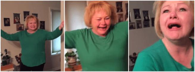 reakcja babci